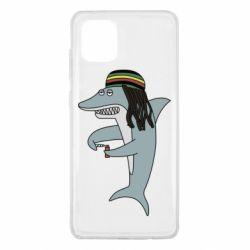 Чохол для Samsung Note 10 Lite Shark Rastaman