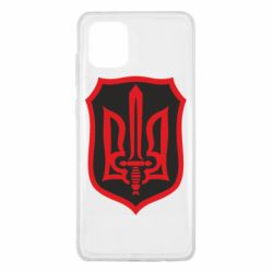 Чехол для Samsung Note 10 Lite Shield with the emblem of Ukraine and the sword