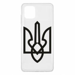 Чехол для Samsung Note 10 Lite Simple coat of arms with sharp corners