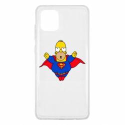 Чехол для Samsung Note 10 Lite Simpson superman