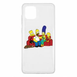 Чехол для Samsung Note 10 Lite Simpsons At Home