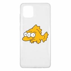 Чехол для Samsung Note 10 Lite Simpsons three eyed fish