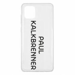 Чохол для Samsung Note 10 Lite Singer Paul Kalkbrenner