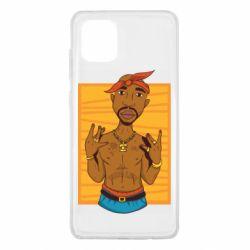 Чохол для Samsung Note 10 Lite Singer Tupac Shakur
