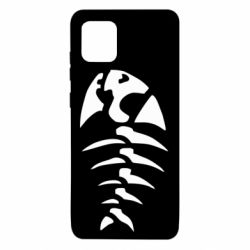 Чехол для Samsung Note 10 Lite скелет рыбки