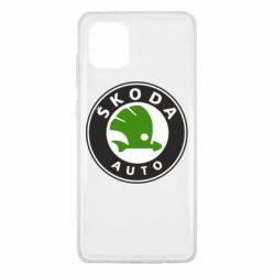 Чохол для Samsung Note 10 Lite Skoda Auto