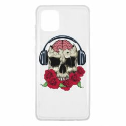 Чохол для Samsung Note 10 Lite Skull and roses
