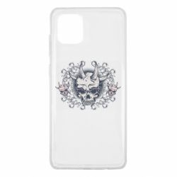 Чохол для Samsung Note 10 Lite Skull with horns and patterns