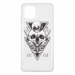 Чохол для Samsung Note 10 Lite Skull with insect
