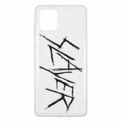 Чехол для Samsung Note 10 Lite Slayer scratched
