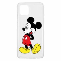 Чехол для Samsung Note 10 Lite Smiling Mickey