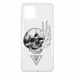 Чохол для Samsung Note 10 Lite Smoke from the skull