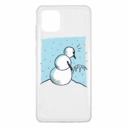 Чохол для Samsung Note 10 Lite Snowman. It's Cold!
