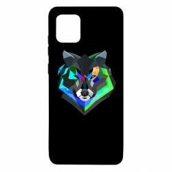 Чехол для Samsung Note 10 Lite Сolorful wolf