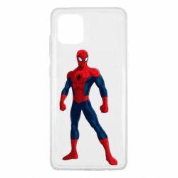 Чохол для Samsung Note 10 Lite Spiderman in costume