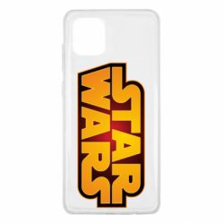 Чохол для Samsung Note 10 Lite Star Wars Gold Logo
