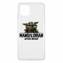 Чехол для Samsung Note 10 Lite Star Wars Yoda beby