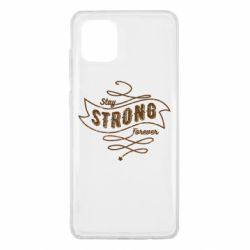 Чохол для Samsung Note 10 Lite Stay strong forever