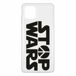 Чехол для Samsung Note 10 Lite Stop Wars peace