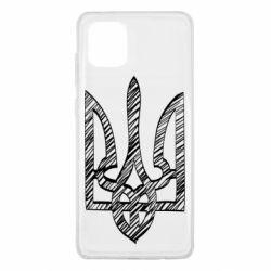 Чехол для Samsung Note 10 Lite Striped coat of arms
