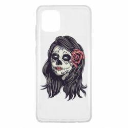 Чохол для Samsung Note 10 Lite Sugar girl with a rose