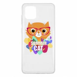 Чехол для Samsung Note 10 Lite Summer cat