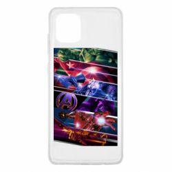 Чехол для Samsung Note 10 Lite Super power avengers