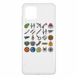 Чохол для Samsung Note 10 Lite Superhero Icon Set