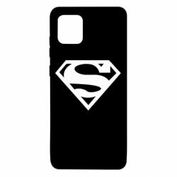 Чехол для Samsung Note 10 Lite Superman одноцветный