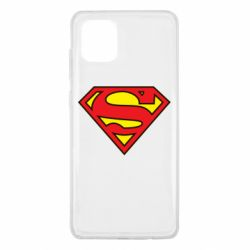 Чехол для Samsung Note 10 Lite Superman Symbol