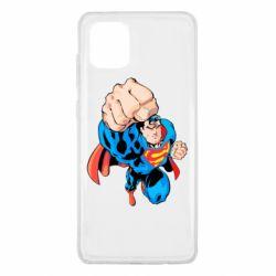Чохол для Samsung Note 10 Lite Супермен Комікс