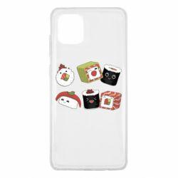 Чохол для Samsung Note 10 Lite Sushi