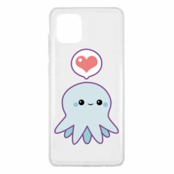 Чохол для Samsung Note 10 Lite Sweet Octopus