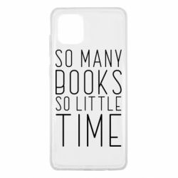Чохол для Samsung Note 10 Lite Так багато книг так мало часу