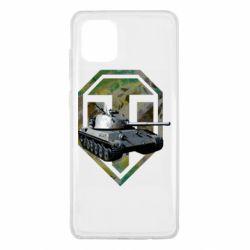 Чехол для Samsung Note 10 Lite Tank and WOT game logo