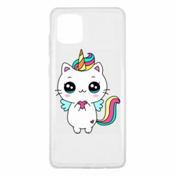 Чохол для Samsung Note 10 Lite The cat is unicorn