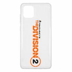 Чохол для Samsung Note 10 Lite The division 2 logo