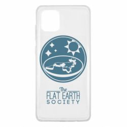 Чехол для Samsung Note 10 Lite The flat earth society