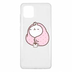 Чехол для Samsung Note 10 Lite The Hare in the blanket