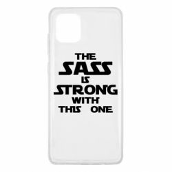 Чохол для Samsung Note 10 Lite The sass is strong with this one