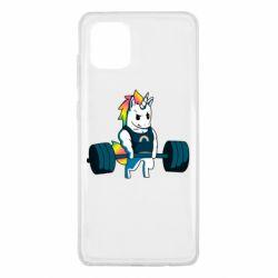 Чохол для Samsung Note 10 Lite The unicorn is rocking