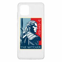 Чехол для Samsung Note 10 Lite The witcher poster