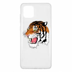 Чохол для Samsung Note 10 Lite Tiger roars