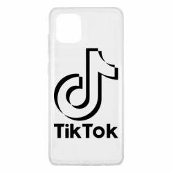 Чехол для Samsung Note 10 Lite Тик Ток