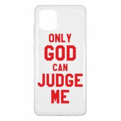 Чохол для Samsung Note 10 Lite Тільки Бог може судити мене