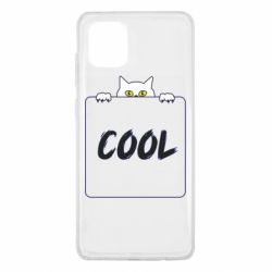 Чехол для Samsung Note 10 Lite Top cat and the inscription cool