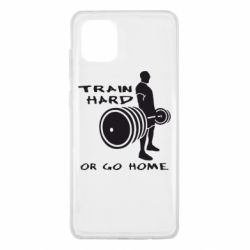 Чехол для Samsung Note 10 Lite Train Hard or Go Home