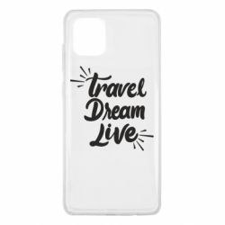 Чехол для Samsung Note 10 Lite Travel Dream Live