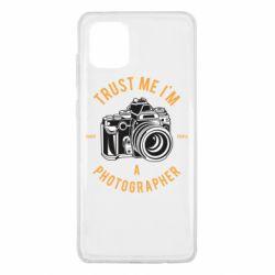 Чохол для Samsung Note 10 Lite Trust me i'm photographer