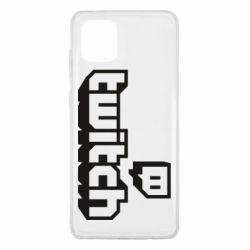 Чохол для Samsung Note 10 Lite Twitch logotip